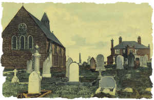 St Paul's church postcard